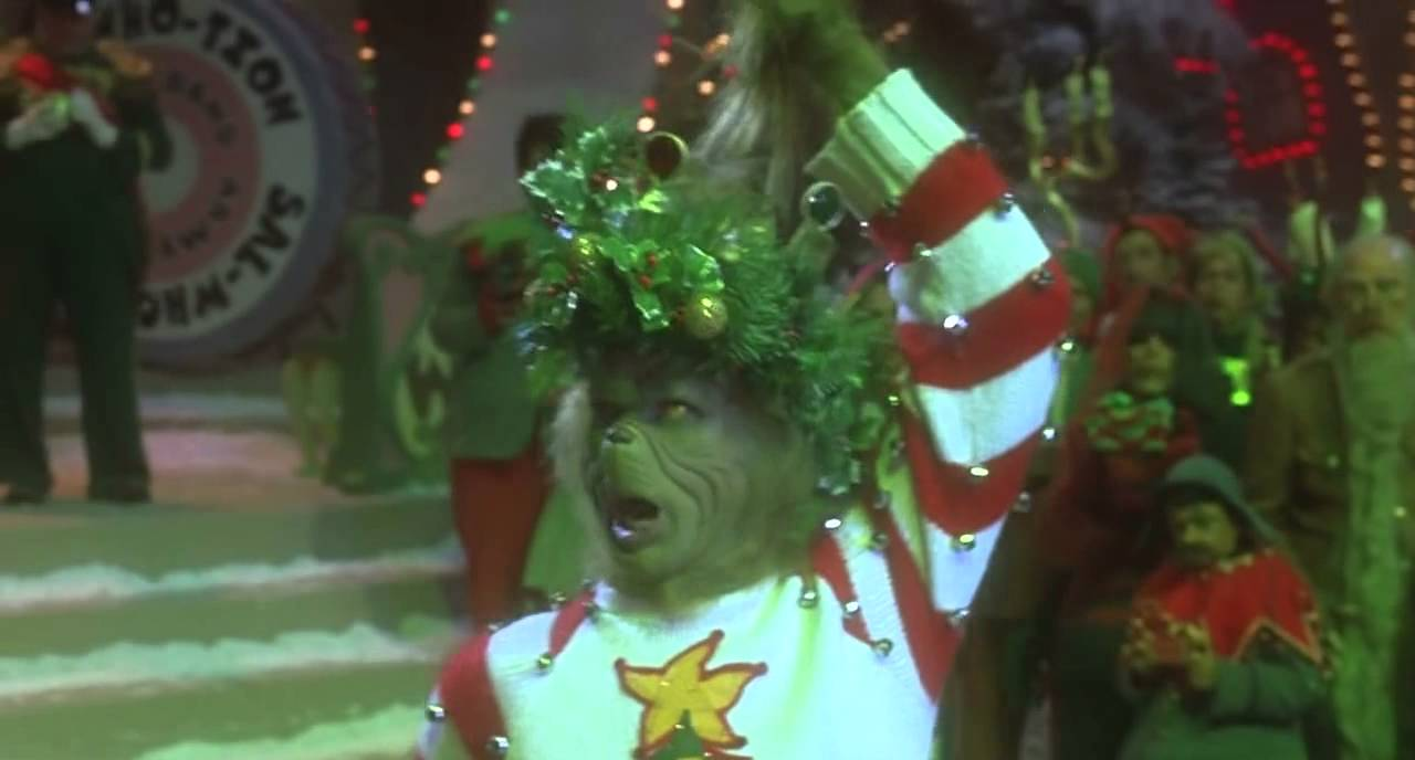 How The Grinch Stole Christmas (movie clip) (2) - YouTube