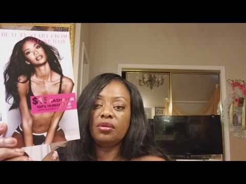 Un-boxing and preliminary review of Miss Love hair Amazon.com