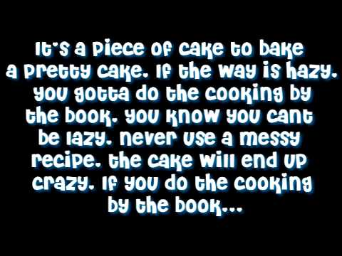 Cooking by the book By: Lazy town - Lyrics
