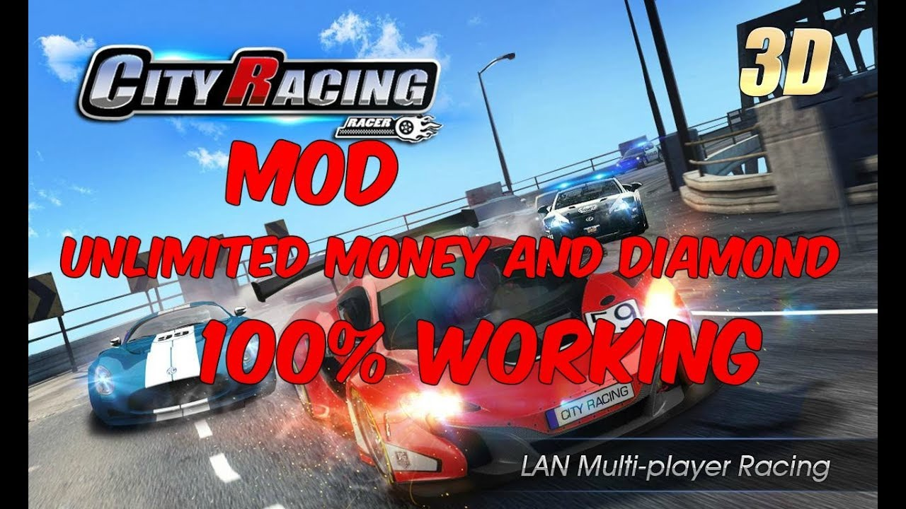 City Racing 3d Mod Unlimited Money And Diamond 100 Working No