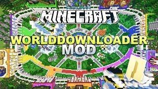 Minecraft - World Downloader Mod + Installation - Tutorial 1.9