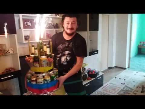 Торт пиво для Чиги