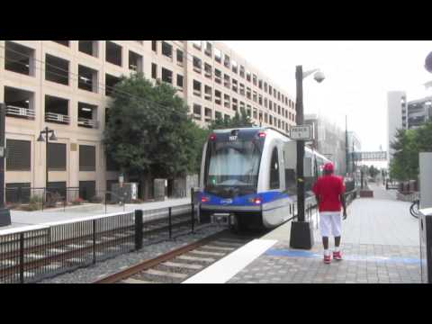 The Light Rail System of Charlotte, NC