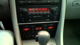 5042 - 2002 Audi A4 1.8T Quattro Black 83k