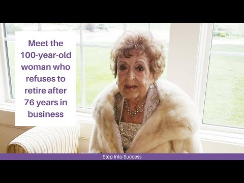 Meet the 100 Year Old Woman Who Refuses to Retire After 76 Years in Business