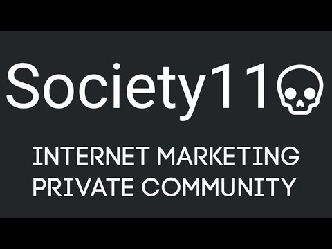 Society11 Review Tutorial - Internet Marketing Private Community thumbnail