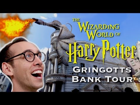 HARRY POTTER GRINGOTTS BANK TOUR | WIZARDING WORLD AT UNIVERSAL STUDIOS, ORLANDO FLORIDA