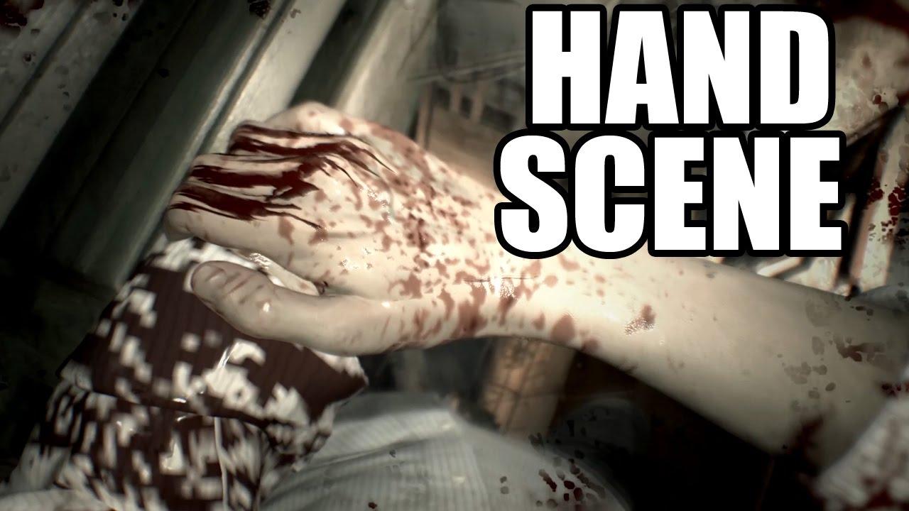 Resident Evil 7 Hand Cut Off Scene Youtube