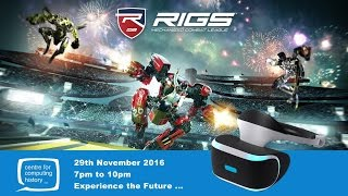 PlayStation VR & Rigs E-Sports Event Preview