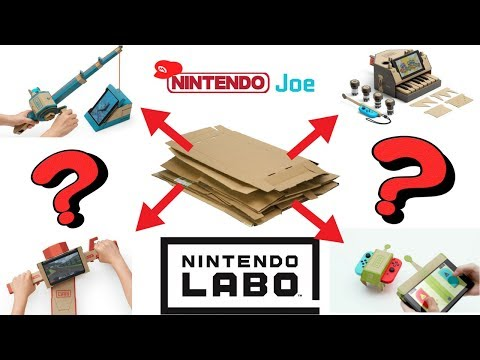 Overpriced Cardboard?! Nintendo Labo Reveal Reactions!