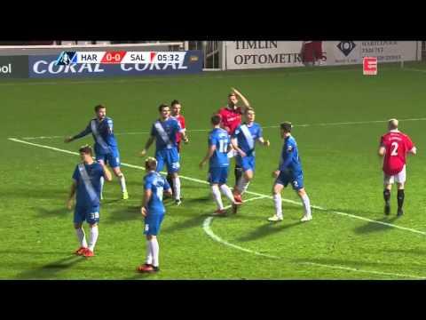 Hartlepool United F.C vs Salford City FA Cup 15/12/2015 1st half