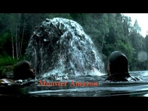 new horror monster movie the amazon monster scary movie