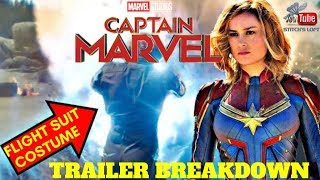 CAROL DANVERS / MONICA RAMBEAU FLIGHT SUIT COSTUME & TRAILER BREAK DOWN - CAPTAIN MARVEL