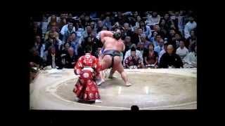 豊ノ島vs琴奨菊 平成27年大相撲春場所 Toyonoshima vs Kotoshogiku SUMO...