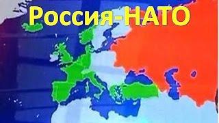 Карта продвижения НАТО к России