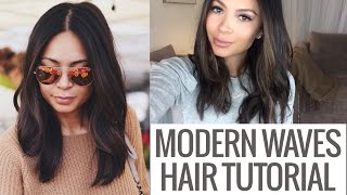 Hair Tutorial: Modern Effortless Waves