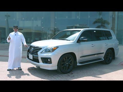تجربة لكزس ال اكس 570 سوبر شارجر خالد الحاشدي - حسن كتبي