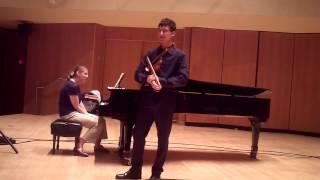 Tristan Siegel | Paul Kantor Masterclass, Sibelius VC II. Adagio di Molto