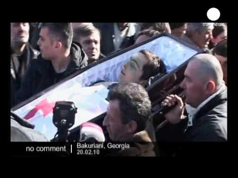 Funeral of Nodar Kumaritashvili - No comment