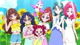 (EPILEPSIE-WARNUNG) Wedding Peach DX-Stil Gehen! Princess PreCure opening