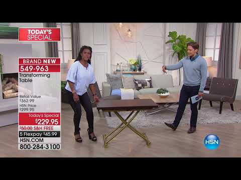 HSN | Home Transformations featuring Concierge Collection 08.22.2017 - 12 AM