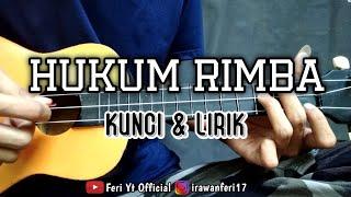 Hukum Rimba - Marjinal (Kunci & Lirik) cover kentrung ukulele by Feri Yt Official