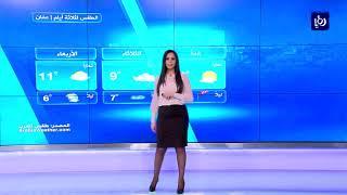 النشرة الجوية الأردنية من رؤيا 21-1-2018