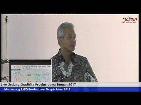 Musrenbang RKPD Provinsi Jawa Tengah Tahun 2018