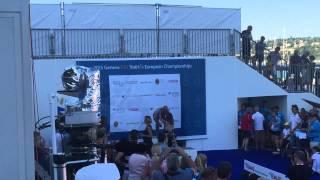 Борис Кириллов - победитель чемпионата Европы по триатлону 2015 года в категории 80 лет и старше!