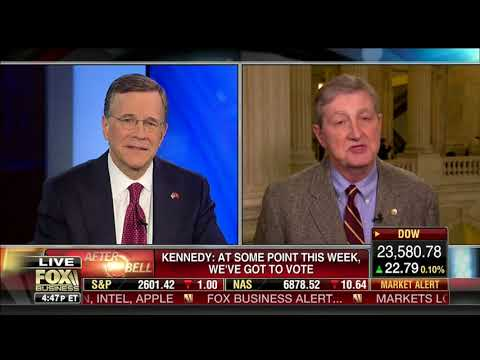 Sen. John Kennedy Discussing Senate Tax Bill