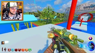 TOTAL WIPEOUT meets COD ZOMBIES!