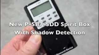 P-SB7-SDD Frequency Sweep with Shadow Detection