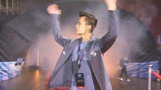 Stewie2K Surprise Entrance At  EM Sydney 2018 Showmatch Team Australia Vs UK
