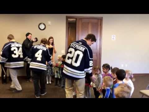 Thank you to the Sioux Falls Stampede, The Argus Leader & KDLT News for making our day so special!!