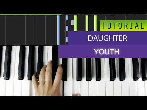 Daughter Youth Piano Tutorial Cover Youtube