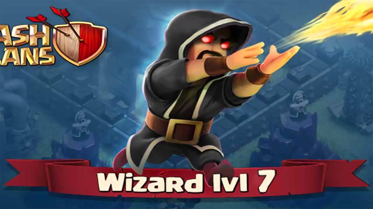 Clash Of Clans LVL 7 Wizard - First - 65.5KB