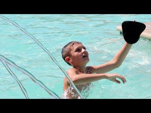 Baseball in the Pool