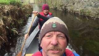 canoeing Llangollen canal, and thomas telford aqueduct