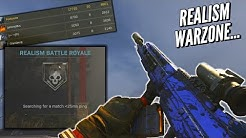 Realism Warzone Is Actually Intense.! (20 Kill Win)