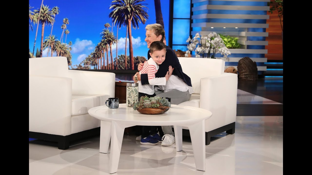 Nate Seltzer Shows Ellen His New License Plate Knowledge Youtube