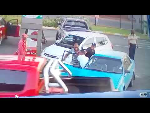 Assault at Petrol Station in South Africa!