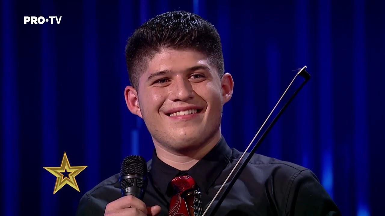 Românii au talent 2021: Alexandru Chiriță Zeta a făcut spectacol cu vioara electrică