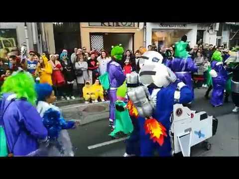VIDEO: Desfile Carnaval A Coruña Marzo 2019