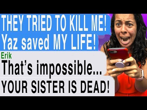 MY SISTER'S GHOST SAVED MY LIFE!!! ( Dark Matter #2 | Hooked Scary Text Message Story)