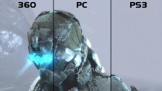 Dead Space 3 Graphics Comparison