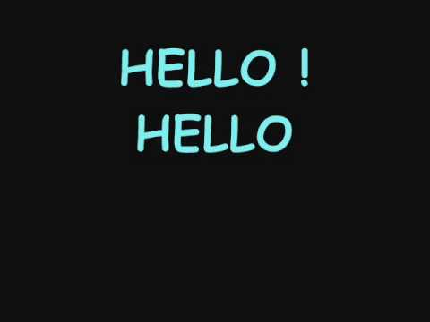 SHINee Hello (karaoke version)