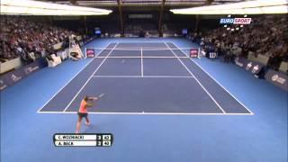 Caroline Wozniacki vs Annika Beck - WTA Luxembourg Final Highlight 20-10-2013