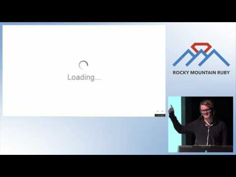 Rocky Mountain Ruby 2015 - Implications of the Realtime Web by Aaron Grey