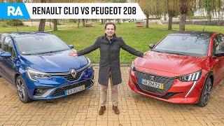 Renault Clio vs Peugeot 208. QUAL É O MELHOR?