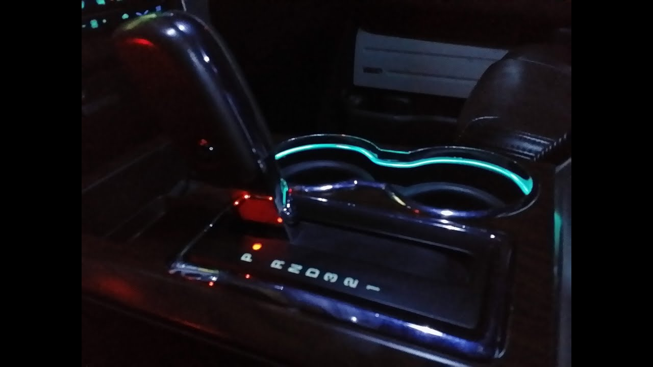 F150 LED CUP HOLDER LIGHT RING INSTALLATION FROM F150LEDS ...